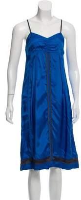 Dries Van Noten Sleeveless Shift Dress
