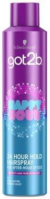 Schwarzkopf got2b Happy Hour 24 Hour Hairspray 300ml