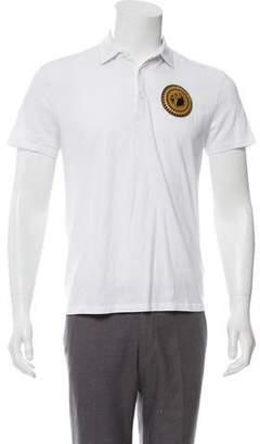 Versace Half Medusa Polo Shirt
