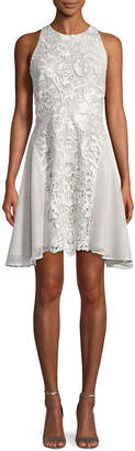 Neiman Marcus Mestiza New York Valentina Lace Racerback Mini Dress