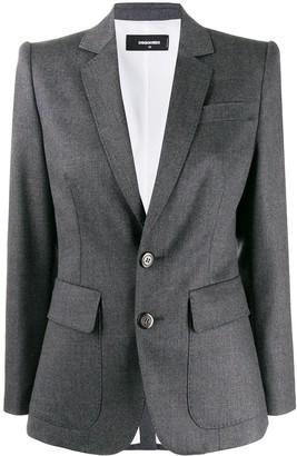 DSQUARED2 plain blazer