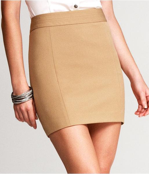 Mid-Thigh Pencil Skirt