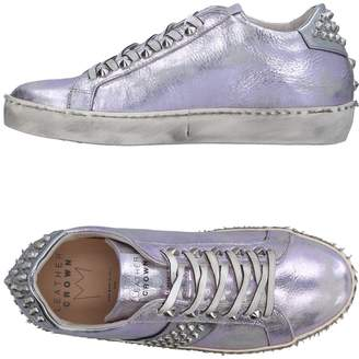 Leather Crown Low-tops & sneakers - Item 11326779FO