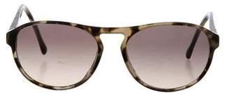 Mykita Tortoiseshell Round Sunglasses