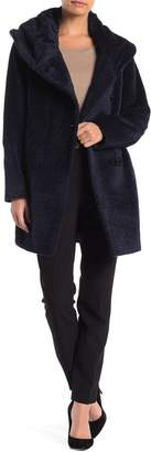 Sofia Cashmere Cocoon Foldover Coat