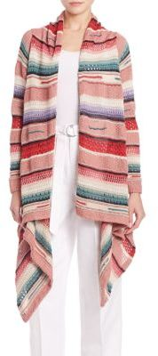 Polo Ralph Lauren Open-Front Long Cardigan $498 thestylecure.com
