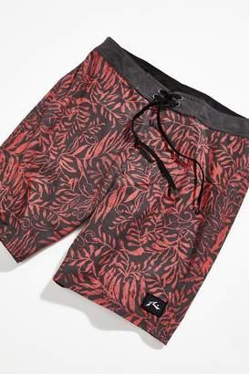 Rusty America Shadow Leaf Swim Short