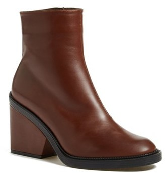 Robert Clergerie 'Babe' Leather Bootie (Women) $630 thestylecure.com