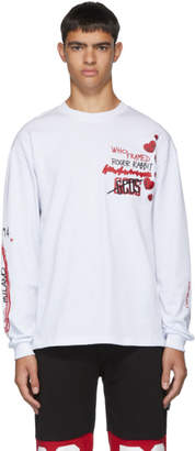 GCDS White Roger Rabbit T-Shirt