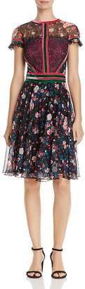 Tadashi Shoji Floral Print Dress $408 thestylecure.com