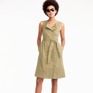 Petitegarment-dyed trench dress $128 thestylecure.com