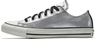 Nike Converse Custom Chuck Taylor All Star Metallic Leather Low Top Shoe