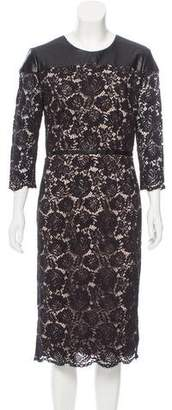 Nha Khanh Lace Midi Dress w/ Tags