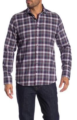 Toscano Checkered Long Sleeve Regular Fit Shirt