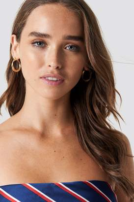 Na Kd Accessories 2-Pack Layered Structured Hoops