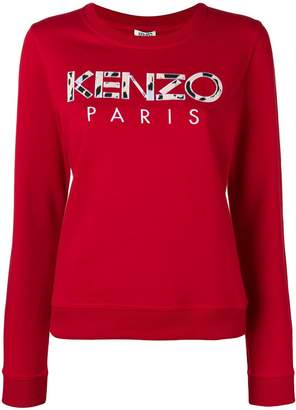 Kenzo Paris embroidered sweatshirt