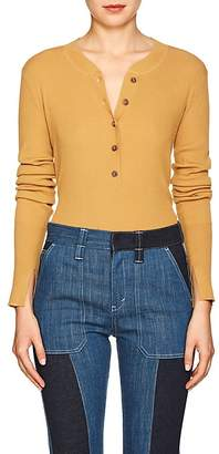 Land of Distraction Women's Hadley Rib-Knit Henley Top