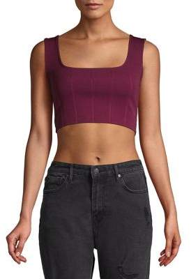 Miss Selfridge Bandage Cropped Top