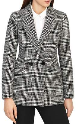 Reiss Langley Houndstooth-Print Blazer