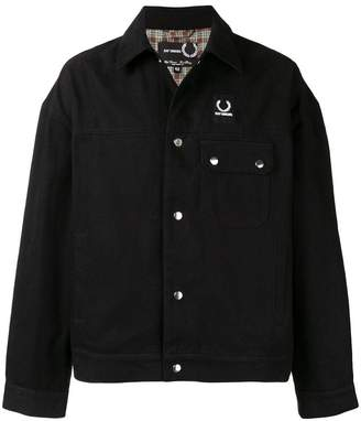 Fred Perry oversized denim jacket