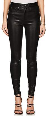 Rag & Bone Women's High Rise Skinny Leather Jeans