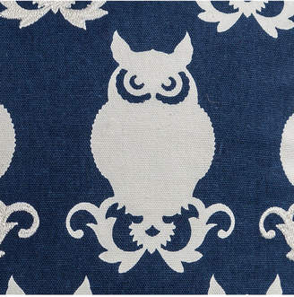 "Rizzy Home Blue 20"" X 20"" Owl Poly Filled Pillow"
