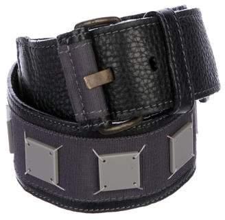Proenza Schouler Wide Leather Belt