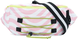 House of Holland wavy print belt bag