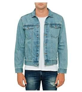 R & E RE: Light Wash Denim Jacket