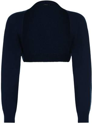 Akris Cashmere Cropped Cardigan