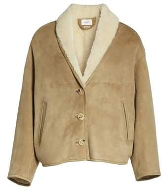 Etoile Isabel Marant Genuine Shearling Coat