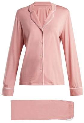 Derek Rose Carla 4 Jersey Pyjama Set - Womens - Pink