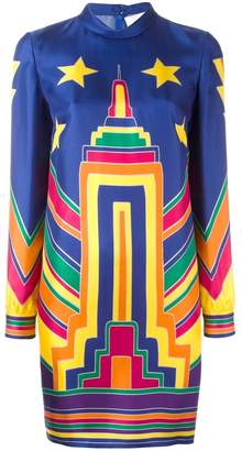 Valentino Empire State printed dress