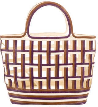 pradaPrada Mini Lattice Bag