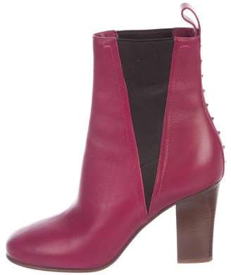 Valentino Rockstud Leather Ankle Boots w/ Tags