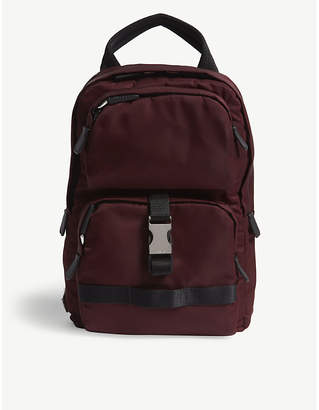 Prada Burgundy Tessuto Montagna Mini Backpack