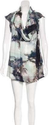 AllSaints Nirvana Silk Dress