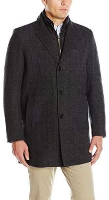 Tommy Hilfiger Men's Wool Button Front Coat