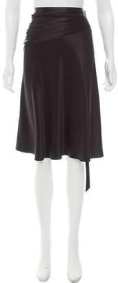 Marc Jacobs Asymmetrical Silk Skirt