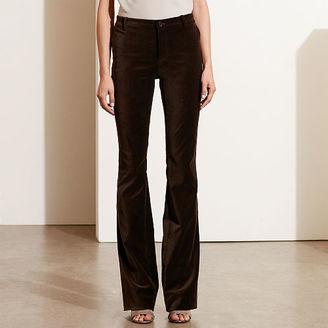 Ralph Lauren Flared Velvet Pant $115 thestylecure.com