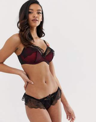 Pour Moi? Pour Moi Contradiction Frill Me Skirted Suspender Brief