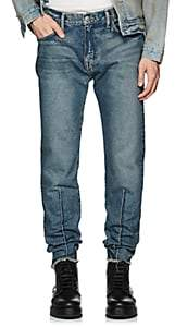 424 Men's Seamed Straight Jeans - Blue
