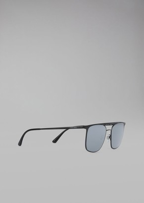 Giorgio Armani Sunglasses With Metal Frame