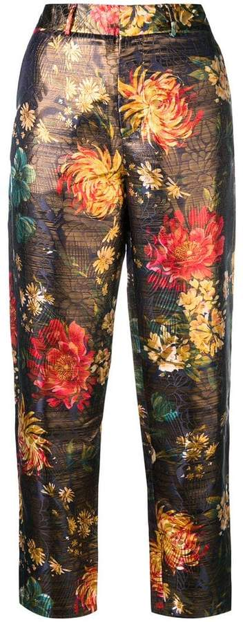 Stora Pavel floral trousers