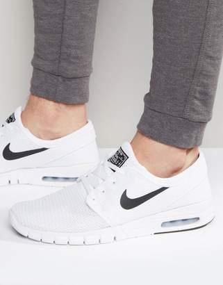 the best attitude 3a9a7 de05f Nike Sb SB Stefan Janoski Max Sneakers In White 631303-100