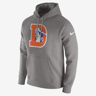 Nike Club (NFL Broncos) Men's Fleece Pullover Hoodie