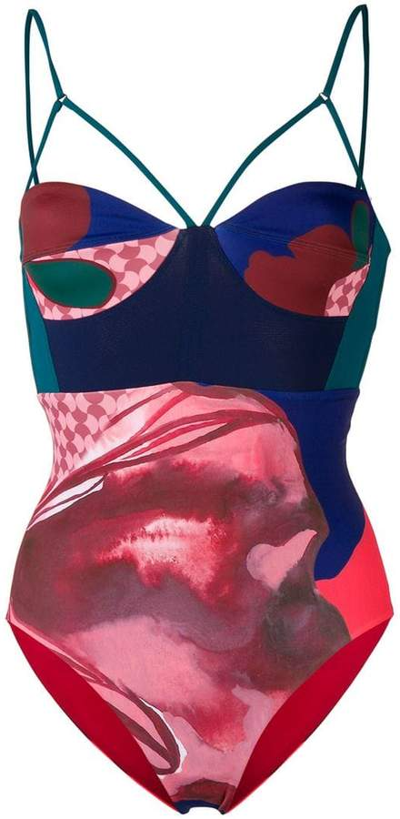 Angelys Balek Bustier swimsuit