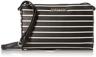 Kenneth Cole Reaction Duplicator Stripe Mini Crossbody $45 thestylecure.com
