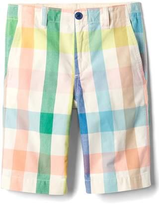 """Gap 8.5"""" Plaid Everyday Shorts"""