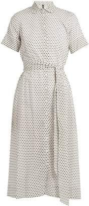 Lisa Marie Fernandez Polka-dot print cotton shirtdress